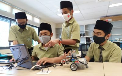 Madrasah Al-Arabiah Students on par with Students from other schools in Evaluation for 'global efficiency'