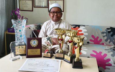 Hasbi qari cilik S'pura 7 kali juarai tilawah Quran; pernah harumkan nama S'pura di Qatar