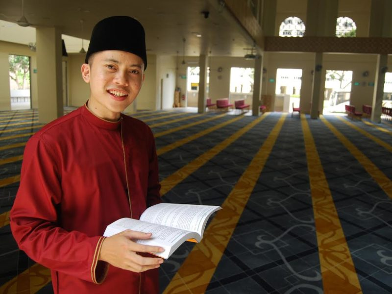 Madrasah Al-Arabiah Graduate balances Studies and being Imam