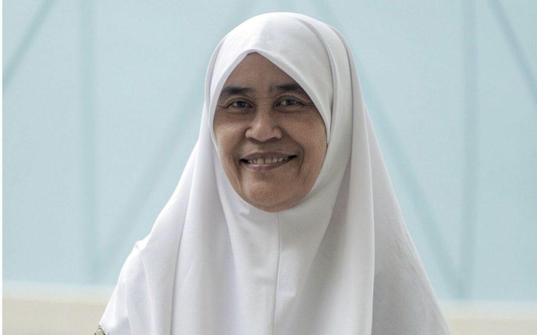 Ustazah Sukarti kini masyaikh Pergas, penasihat mapan wanita pertama