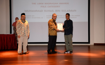 These 3 outstanding madrasah students are the recipients of the LBKM 2021 Madrasah Award