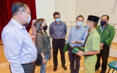 SINGAPORE: A total of 80 madrasah students from low income families received refurbished laptops.